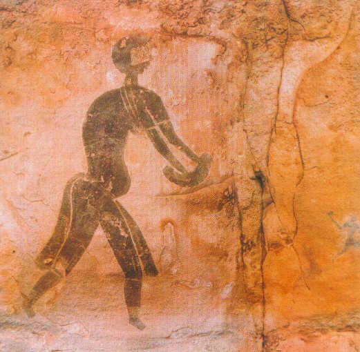 digression culturelle peintures rupestres du tassili sud alg rien. Black Bedroom Furniture Sets. Home Design Ideas