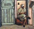 Djemaï  :  Vieil homme et la Casbah