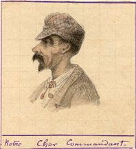 Le Commandant Ginouvier patron de l'Oranais