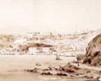 Vue d'Oran au XIXème siècle